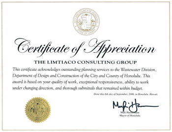 TLCG – The Limtiaco Consulting Group – Recognition