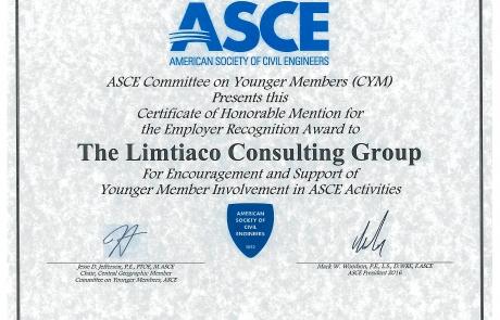 ASCE  CYM Award